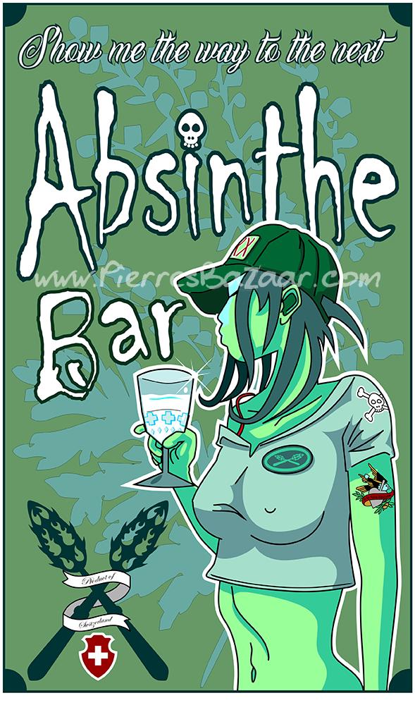 Absinthe-Pinup-PNG WM