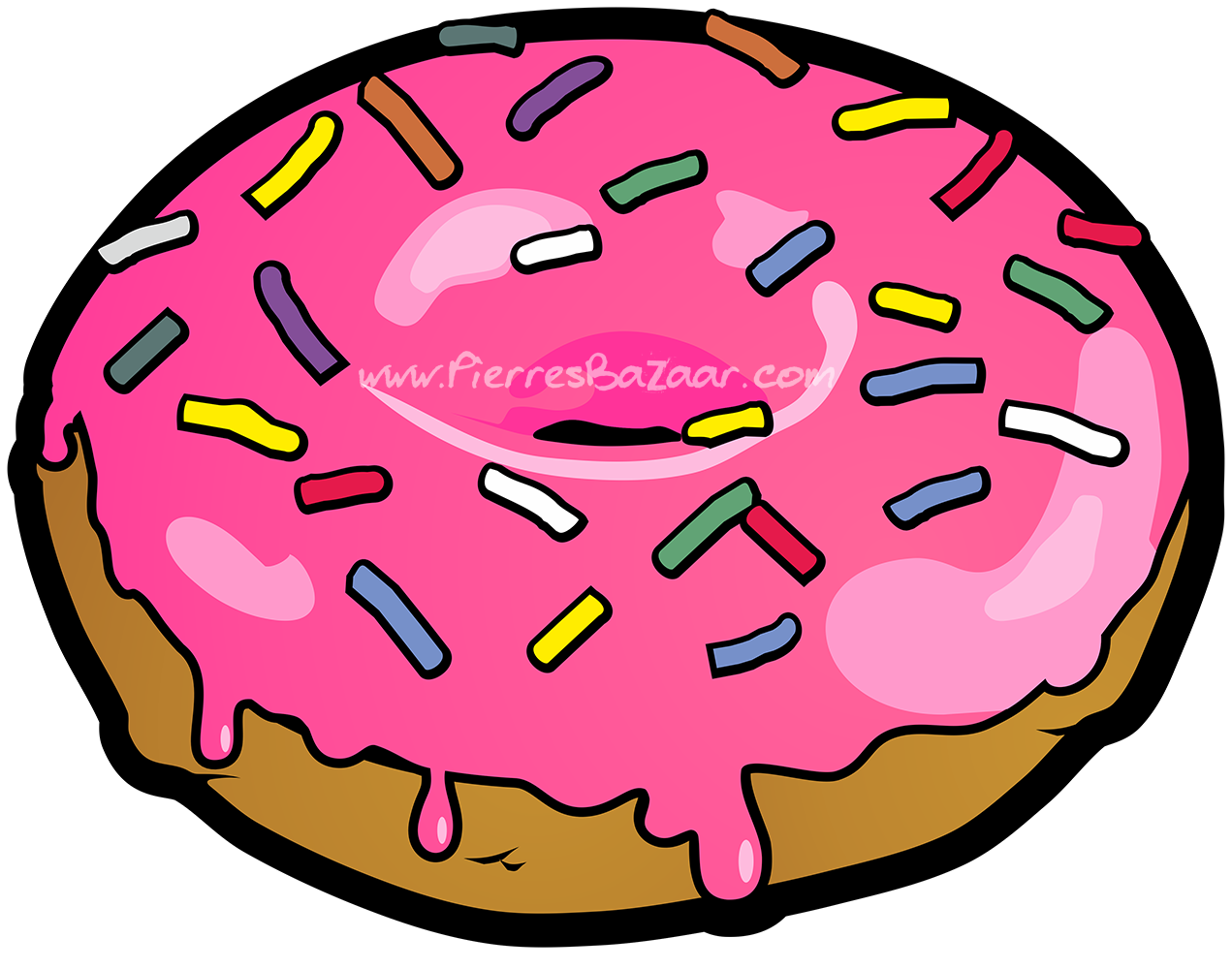 Doughnut-1-PNG WM