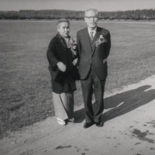 スウェーデンを訪問された松田政一ご夫妻