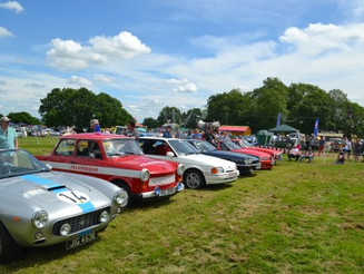 BUMPER TURNOUT AT RAGLEY HALL MOTOR SHOW