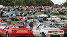 Knebworth Classic Motor Show to Celebrate Silver Jubilee!