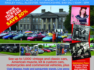 Car Enthusiasts rev up for Ragley Hall Motor Show
