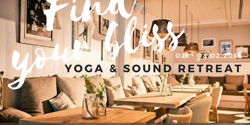 Follow your bliss Yoga & Sound Retreat