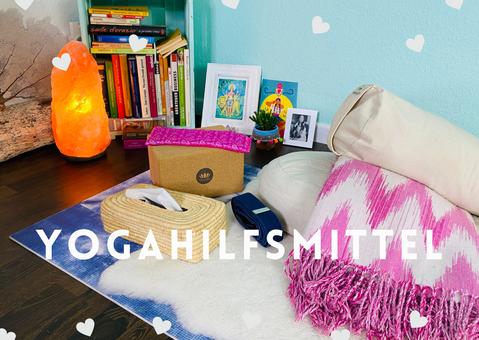 Yoga-Zubehör für deine Yogapraxis zuhause! Grundausstattung Block, Bolster, Yogagurt & Co