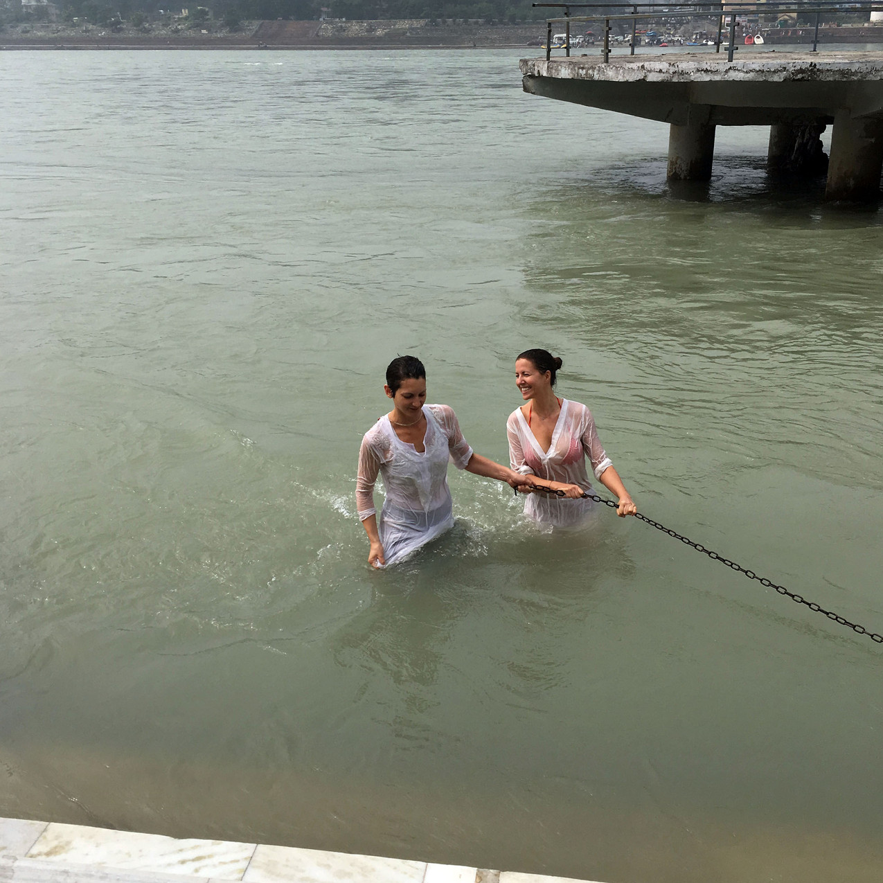 Dipping in the Ganges