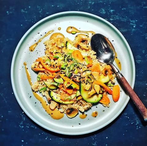 Yoga Cuisine ❤ Myso-Gemüsepfanne