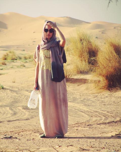 Die Wüste ist echt - Wie ich in der Wüste die Lektion meines Lebens lernte
