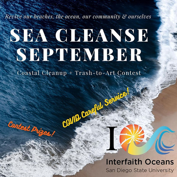 Sea Cleanse September -Covid safe trash