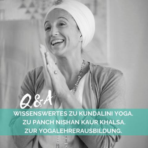 ੴ Hear the call! Werde Kundalini Yogalehrer! ੴ