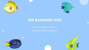 The Rainbow Fish read in Arabic & English