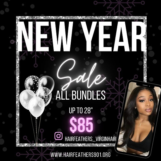 NEW YEAR $85 BUNDLE DEAL
