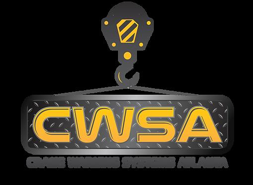 Crane Warning System Atlanta Logos