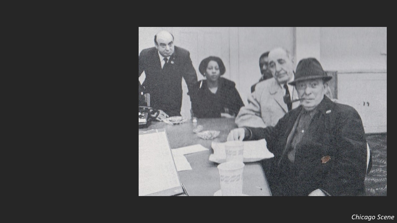 Although Horwitz moved out of the ward, he needed to recruit reliable black precinct workers who could persuade black voters to support the white political machine.