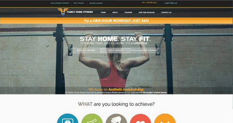 FAMILY HOME FITNESS