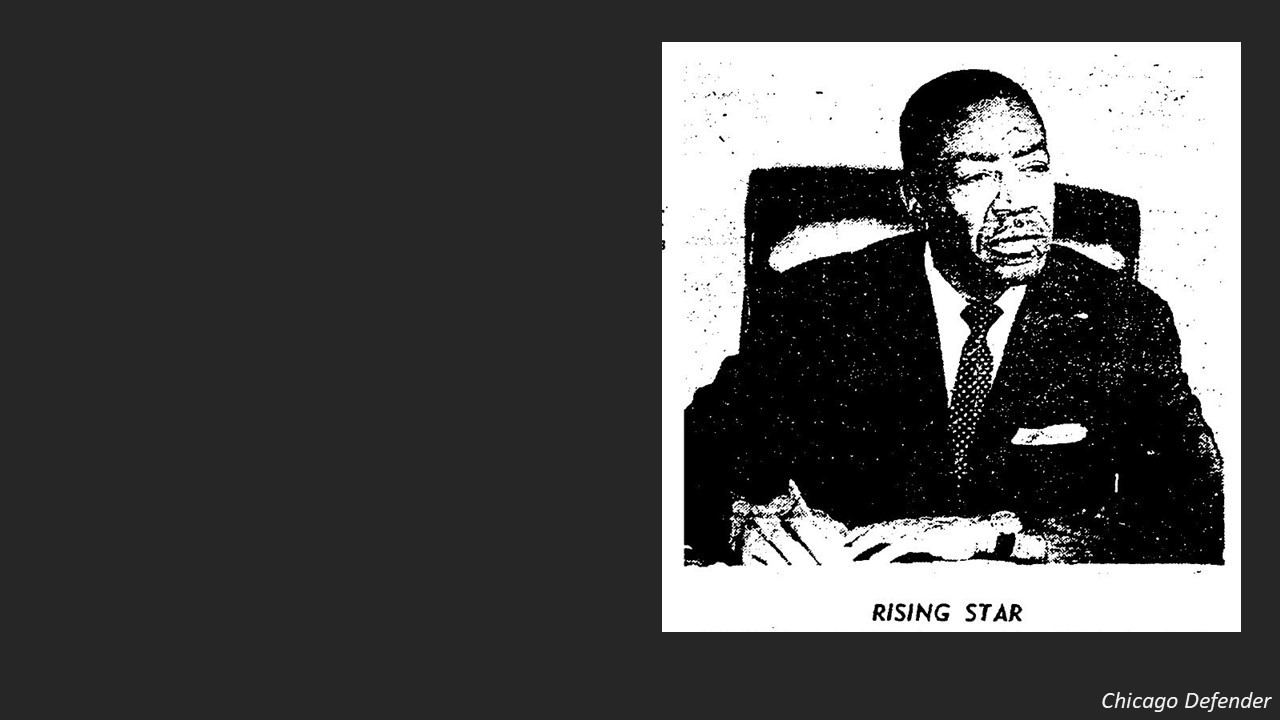"""Lewis was one of six black city councilmen. They were called """"The Silent Six"""" because they were subservient to the political machine that had put them in office."""