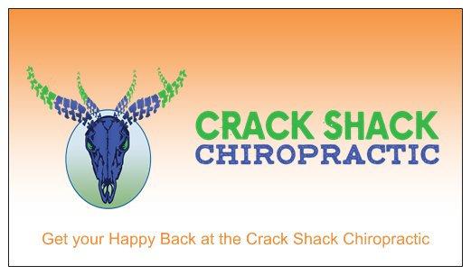 Judi McCormick Crack Shack Chiropractic Business Cards