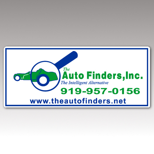 Magnetic Signs auto-finders