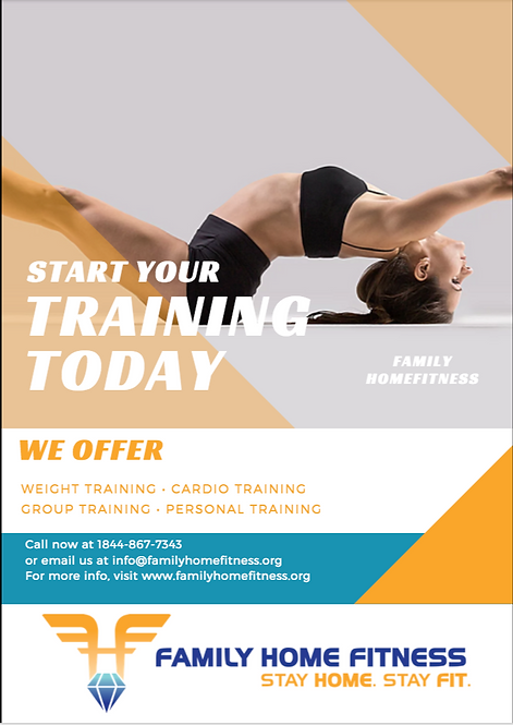 FLYER FAMILY HOME FITNESS