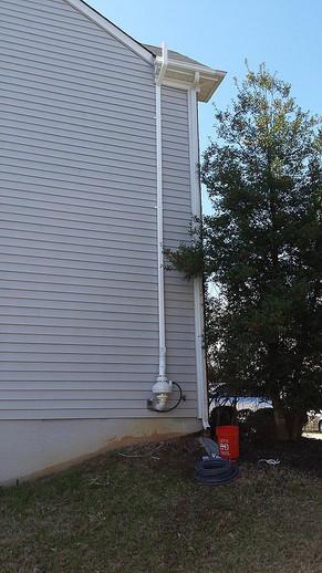 Exterior mounted RP265 model fan