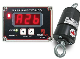 ​R147 ATB Wireless Anti Two-Block Warning System