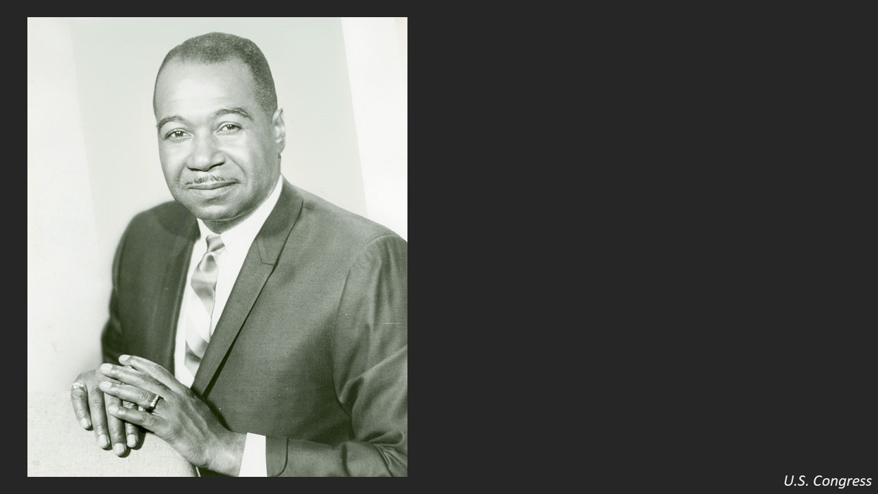 After Lewis died, Horwitz replaced him with a more compliant black politician named George Collins.