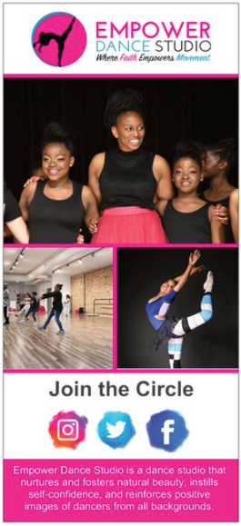 Empower Dance Rack Cards