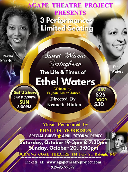 The Life and times of Ethel Waters