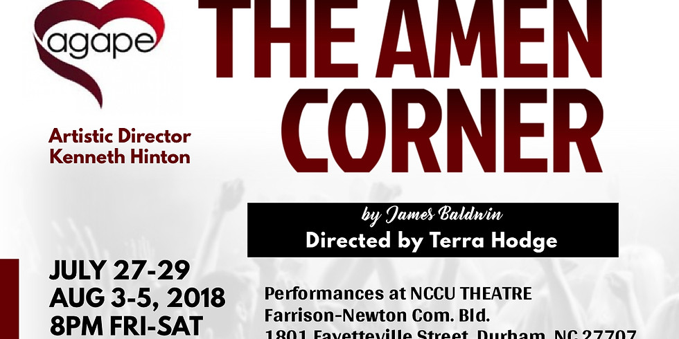 "8 PM -  James Baldwin's ""The Amen Corner"" (1)"