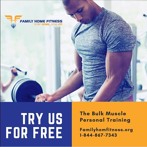 BULK MUSCLE PERSONAL TRAINING INSTAGRAM