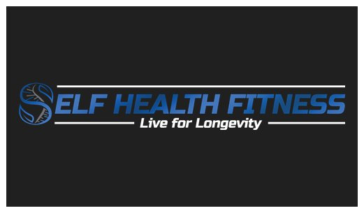 Self Health Fitness Business Cards