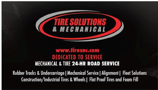 Chris Ferrell - Tire Solutions Business Cards