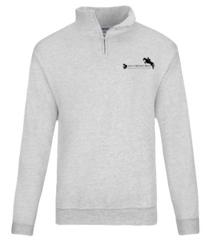 JERZEES® NuBlend® Quarter-Zip Cadet Collar Sweatshirt
