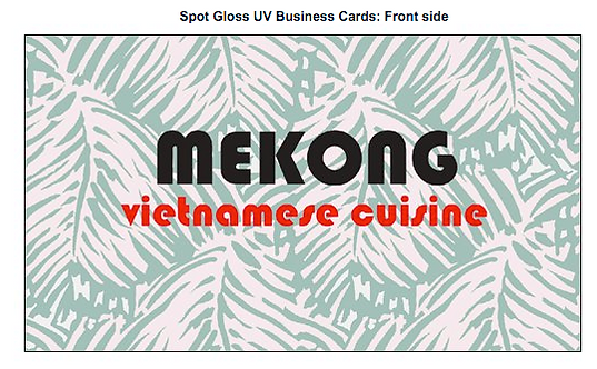 Mekong- Business Cards