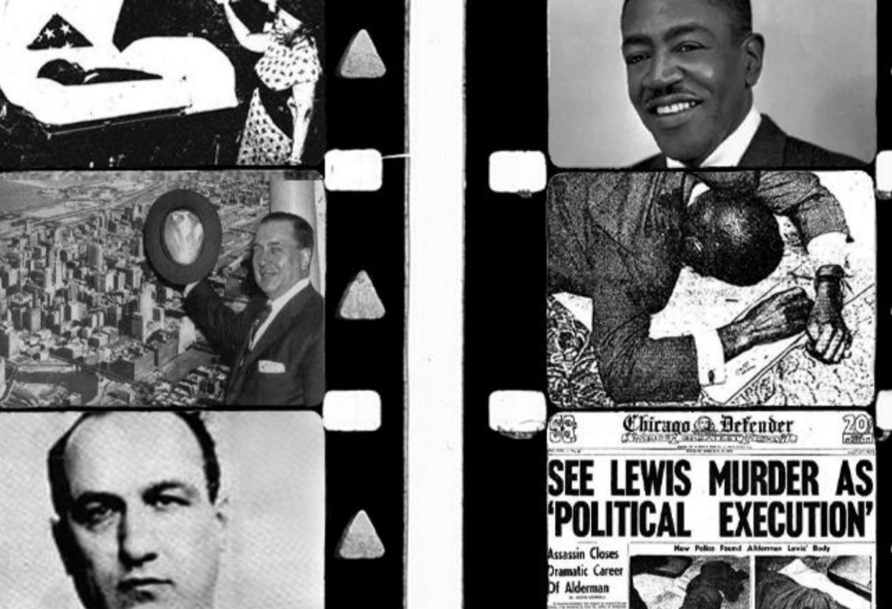 """On February 28, 1963, Ben Lewis, the 24th Ward's first black representative in the Chicago City Council, was found on the floor of his office, handcuffed with three bullets in his head. The case is still unsolved.     Scroll down to learn more about """"plantation politics"""" and the racial and political conflicts behind the murder."""