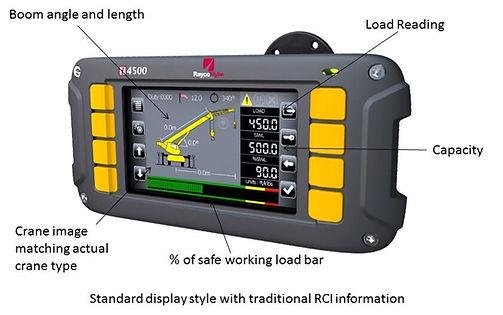 i4500 Load Moment Indicator LMI For telescopic boom cranes