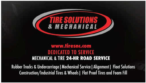 Brian Hobbs- Tire Solutions Business Cards