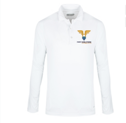 10 Embroidered Elevate Brecon Men's Long Sleeve Polo Shirt