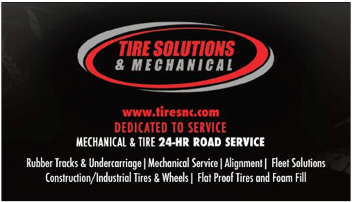 Josh Rice - Tire Solutions Business Cards