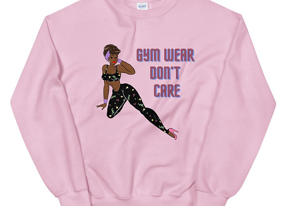 Gym Wear Don't Care PullOver
