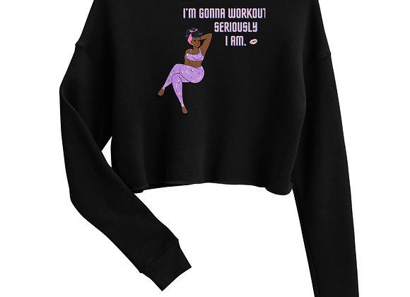 Miss Darlin's 1980's SHavEd Crop Sweatshirt