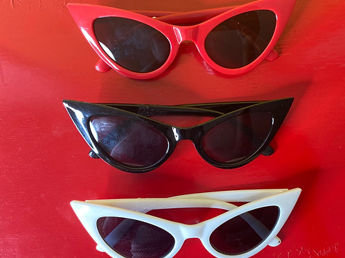 1940's inspired Cat eye sunglasses