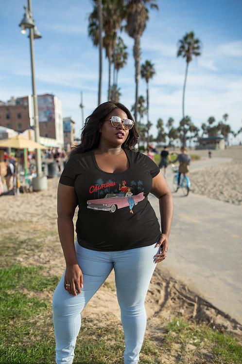 She Loves California Pin Up T-Shirt