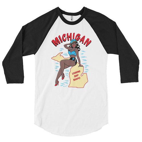 Michigan Raglan shirt