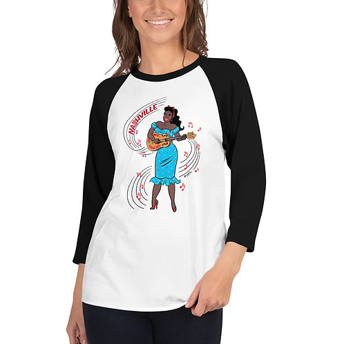 Sister Rosetta Raglan T shirt