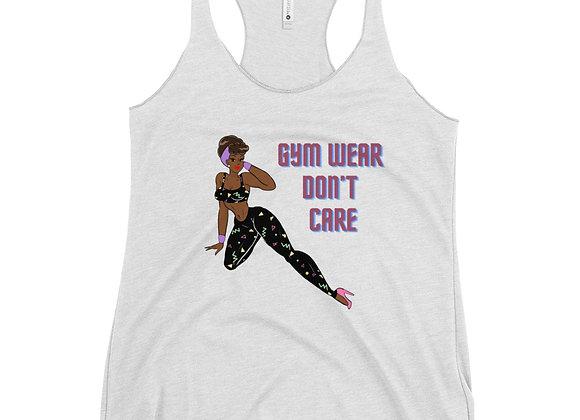 Miss Darlin's Gym Wear Don't Care Tank