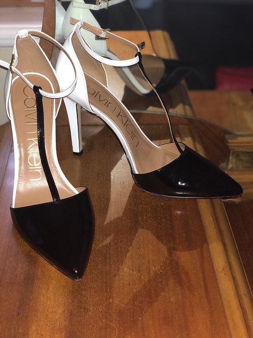 Calvin Klein Heel-Size 10- 4 inch heel