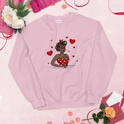 Queen of Hearts PullOvershirt