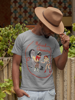 Raised Country Men's  T-Shirt