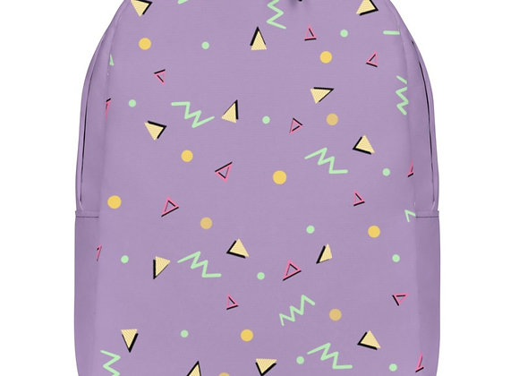 1980's Lilac Back Pack