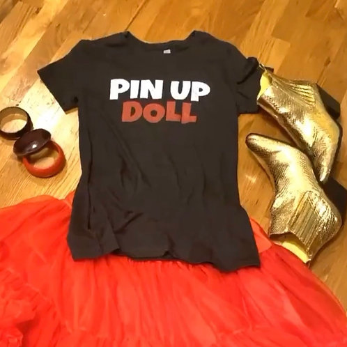Pin Up Doll Tee
